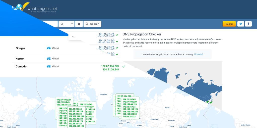 La propagación del DNS no existe